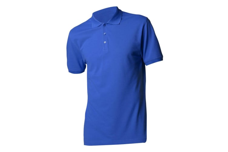 Kustom Kit Mens Short Sleeve Polo Shirt (Royal) (M)