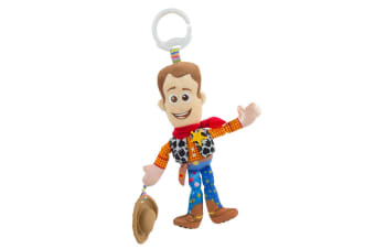 Lamaze 29cm Toy Story Clip & Go Baby/Infant Activity Toy w/Teether 0m+ Woody