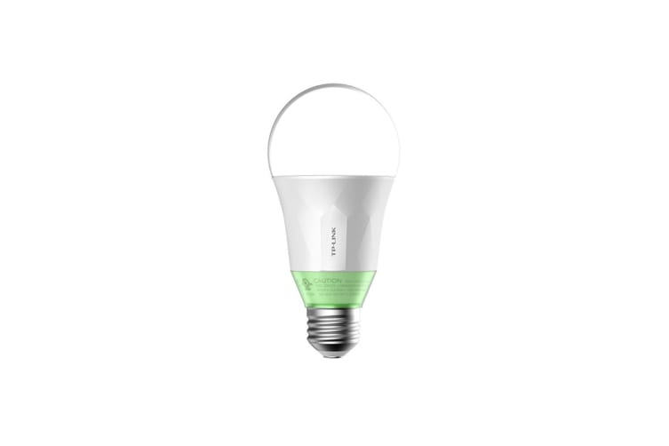 TP-Link LB110 Smart LED Light Bulb, Wi-Fi, Dimmable White, A19, E27/B22 Base, 60W Equivalent, No Hub Required (LB110)