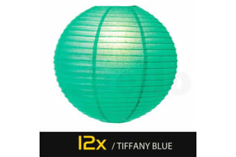 Paper Lanterns for Wedding Party Festival Decoration - Mix and Match Colours  -  72 pcsBaby BlueNo