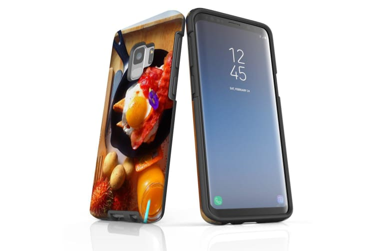 For Samsung Galaxy S9 Case Armour Cover  Delicious Breakfast