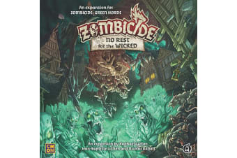 Zombicide Green Horde - No Rest for the Wicked Expansion