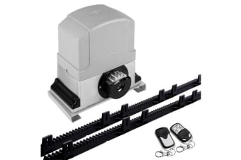 550W Automatic Sliding Gate Opener Kit with 6 Rails
