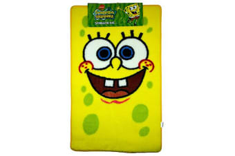 SpongeBob SquarePants Large Childrens Floor Rug (As Shown) (65 x 90 cm)