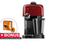 Lavazza A Modo Mio Fantasia Coffee Machine +32 BONUS Capsules (Red)