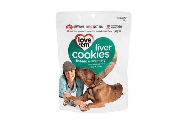 Love'em Liver Cookies Linseed ; Rosemary