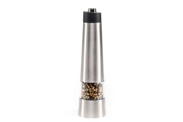 Westinghouse Electric Salt And Pepper Mills - Stainless Steel