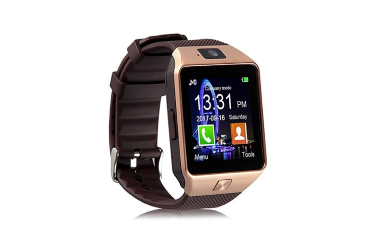 Boys And Girls Bluetooth Sports Watch,Smart Phone Watch For Children Silver