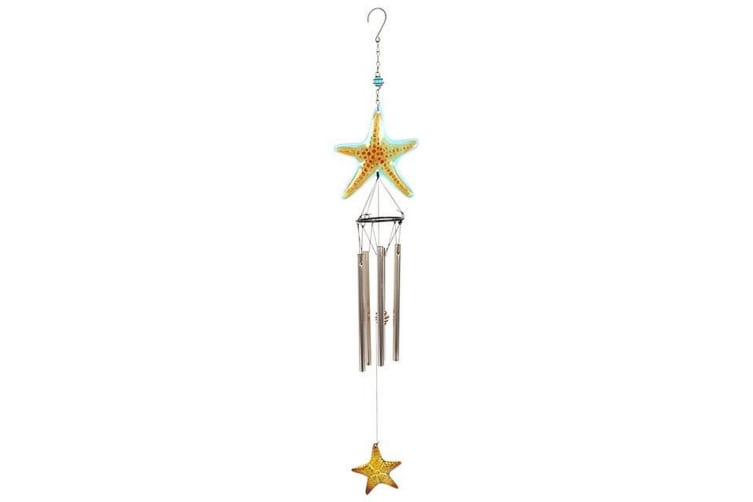 Something Different Starfish Wind Chime (Multicoloured) (One Size)