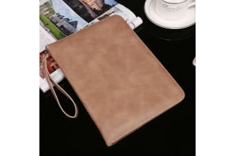 Genuine Luxury Leather Case Cover for Apple iPad Pro 10.5-Apricot