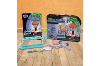 Kids Slime Factory Science Experiments Kit | 5 Slimy Science Experiments