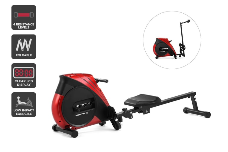 Fortis Foldable Mechanical Exercise Rowing Machine