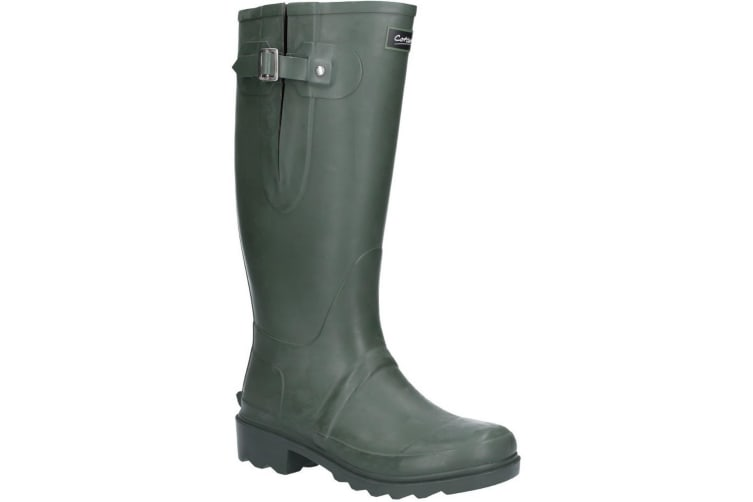 Cotswold Mens Woodchester Neoprene Lined Wellington Boots (Green) (6 UK)
