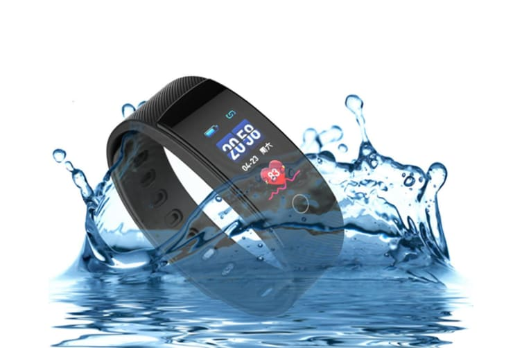 Smart Watch Heart Rate Monitor,Low Power Consumption Fitness Tracker Black