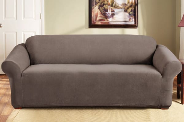 SureFit Pearson Sofa Cover 3 Seater - Taupe