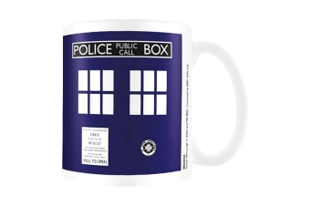 Dr Who Ceramic Mug (Multicoloured) (One Size)