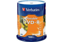 Verbatim 100Pk Dvd-R Printable Spindle