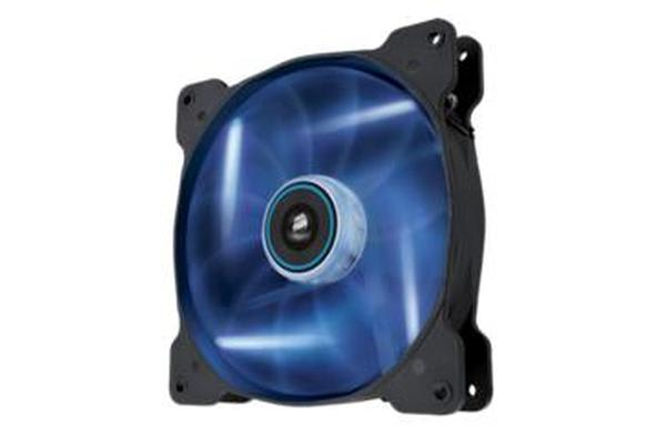 Corsair Air Flow 140mm Fan Quiet Edition w/Blue LED 3 PIN - Superior cooling performance and LED illumination