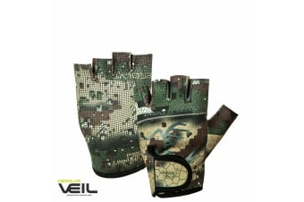 Hunters Element Soft Touch Hunting Veil Camo Gloves
