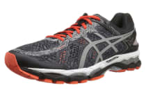 ASICS Men's Gel-Kayano 22 Lite-Show (Carbon/Silver/Cherry Tomato)