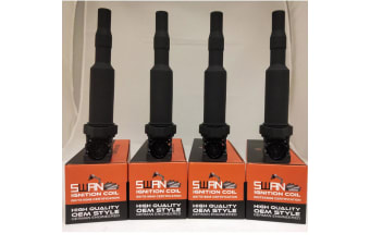 Pack of 4 - SWAN Ignition Coil for Citroen C3, C4 & C5