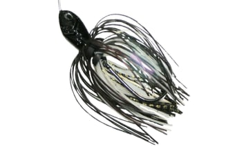 TT Lures Tornado Spinnerbait Double Colorado - Black Gold Scale