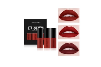 Matte Liquid Lip Stick Set Mini Lip Gloss Travel Kit Long C