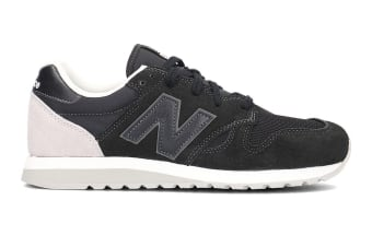 New Balance Unisex 520 Shoe (Black, Size 8)