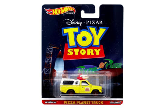 Hot Wheels Retro Pizza Planet Truck