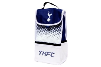 Tottenham Hotspur FC Official Fade Insulated Football Crest Lunch Bag (Navy/White)
