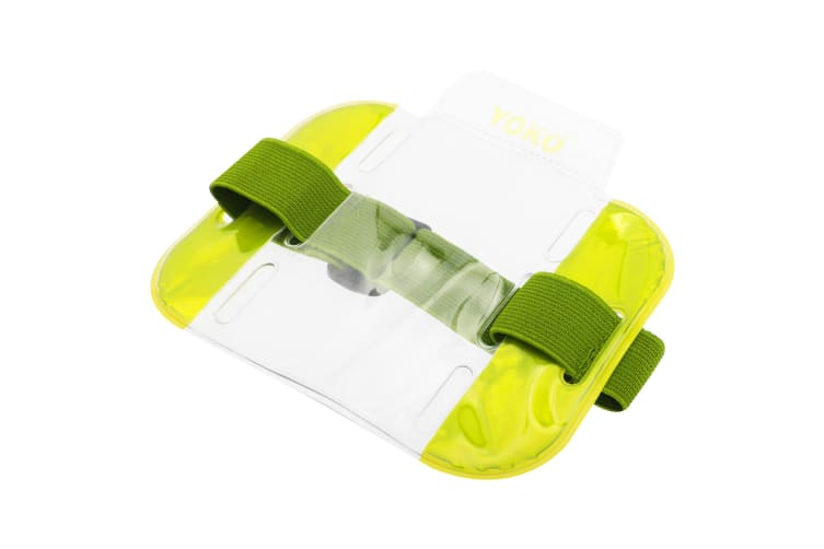 Yoko ID Armbands / Accessories (Pack of 4) (Floro Yellow) (One Size)