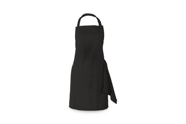 Ogilvies Designs Terry Apron Set Black