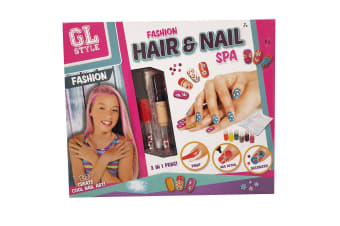 Grafix Hair and Nail Spa Kit