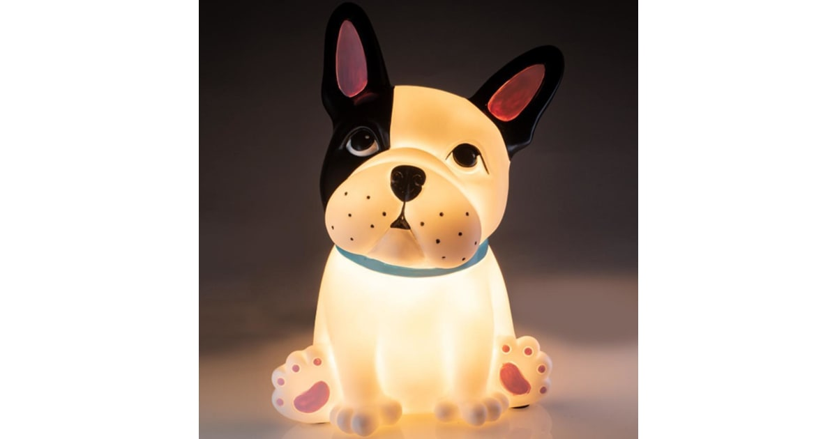 Dick Smith French Bulldog Battery Operated Led Table