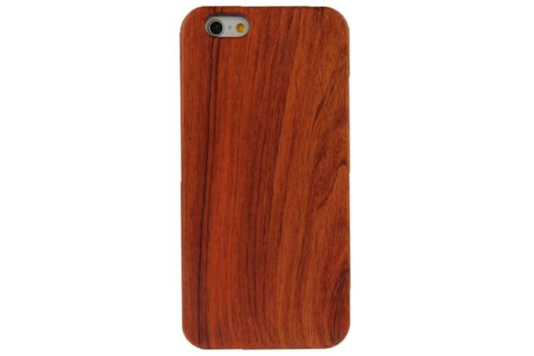 For iPhone 6S 6 Case Modern Rosewood High-Quality Shielding Cover Brown