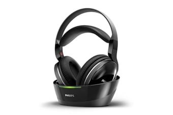 Philips Digital Wireless Headphones with Cradle and Optical Input (SHD8850)