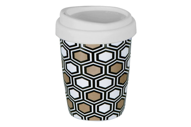 Avanti Go Mug Coffee Mug With Lid 250ml - Hexagon