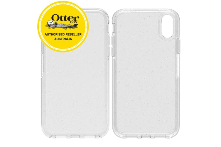 huge selection of 37e23 bbde1 OtterBox Symmetry Clear Case for iPhone XR - Stardust