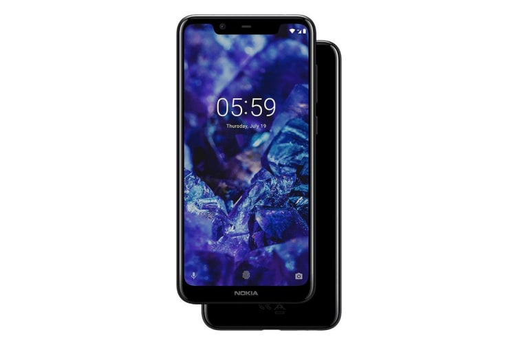 Nokia 5.1 Plus Dual SIM (64GB, Night Black)