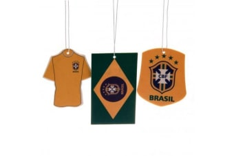 Brasil Air Fresheners (Pack Of 3) (Yellow/Green) (One Size)