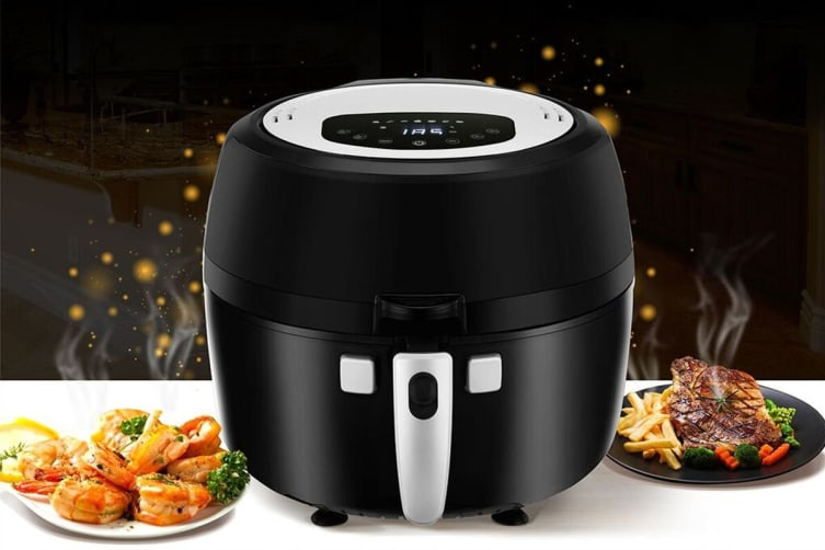 Kogan 6.5L Self Stirring Digital Air Fryer