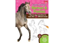 Learn to Draw Horses & Ponies - Step-by-step instructions for more than 25 different breeds - 64 pages of drawing fun! Contains fun facts, quizzes, color photos, and much more!