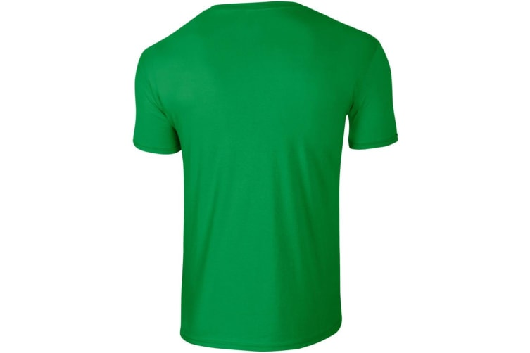 Gildan Mens Short Sleeve Soft-Style T-Shirt (Irish Green) (XL)