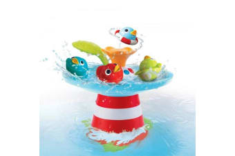 Yookidoo Baby Bath Toy Musical Duck Race