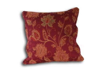Riva Home Zurich Cushion Cover (Burgundy)