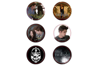 Twilight Pin Set of 6 Style B (Cullen Crest)