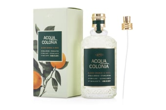 Maurer & Wirtz 4711 Acqua Colonia Blood Orange & Basil Eau De Cologne Spray (Unisex) 169ml