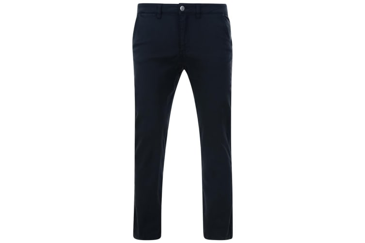 Kam Jeanswear Mens Stretch Chinos (Navy) (70R)