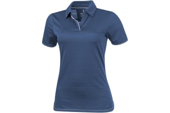 Elevate Womens/Ladies Prescott Short Sleeve Polo (Denim)