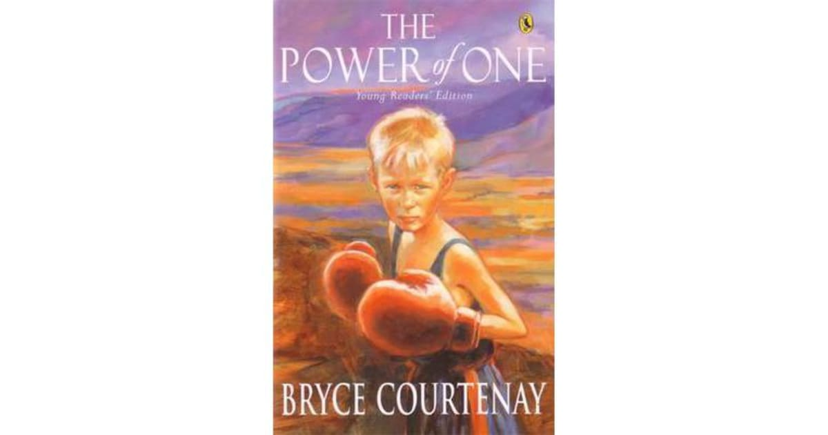 literary effects in the power of one bryce courtenay